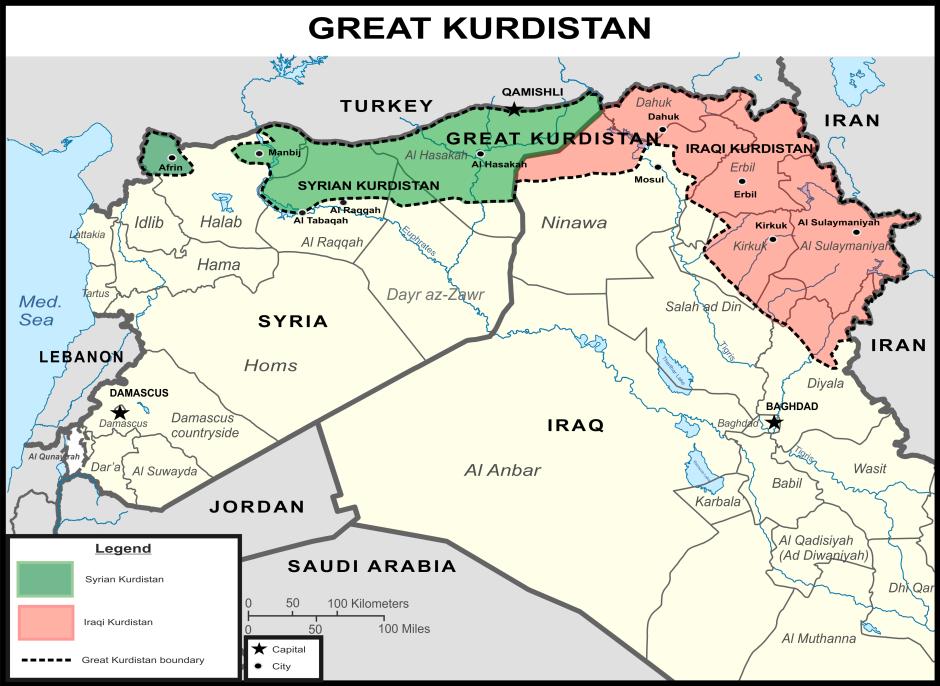 Картинки по запросу The Map Of Great Kurdistan
