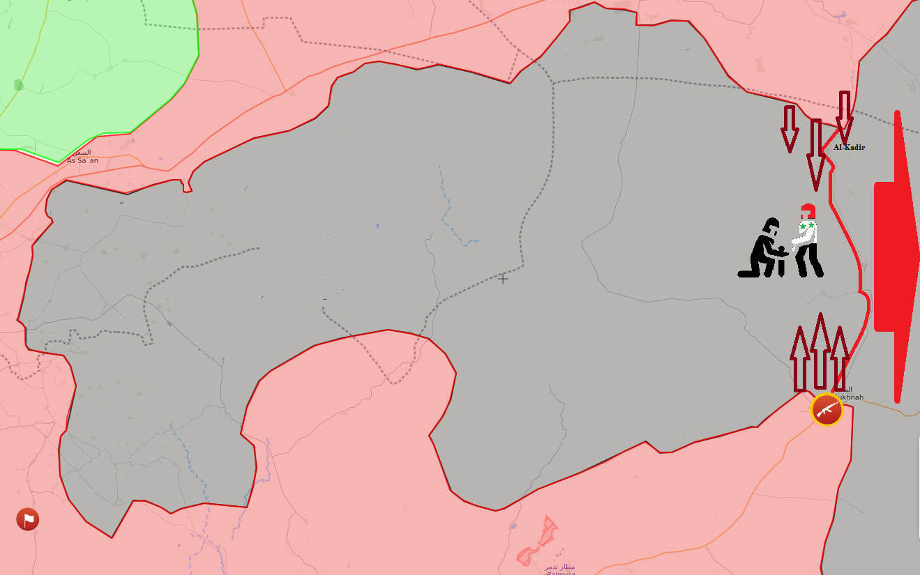 EXCLUSIVE: SAA to Cut off ISIS Escape Routes (Map & Photos ...